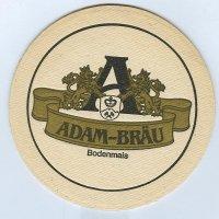 Adam coaster A page