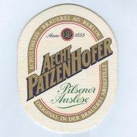 Aecht Patzenhofer coaster A page
