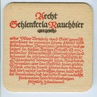 Aecht Schlenkerla coaster A page