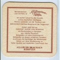 Alt Kemptener coaster A page