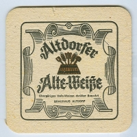 Altdorfer coaster A page