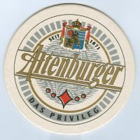 Altenburger coaster A page