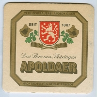 Apoldaer coaster A page