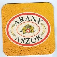 Arany Ászok coaster A page