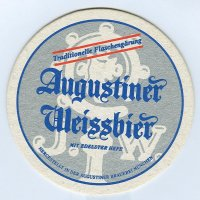 Augustiner coaster A page
