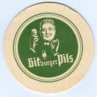Bitburger coaster A page