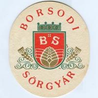 Borsodi coaster A page