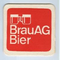 Brau AG coaster B page