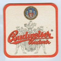 Budweiser coaster A page