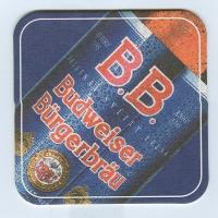 Budweiser   (USA) coaster A page