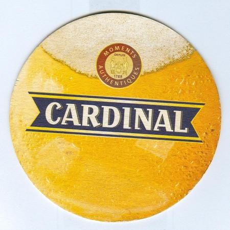 Cardinal coaster A page