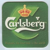 Carlsberg coaster A page