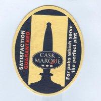 Cask Marque coaster A page