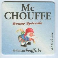 Chouffe coaster A page
