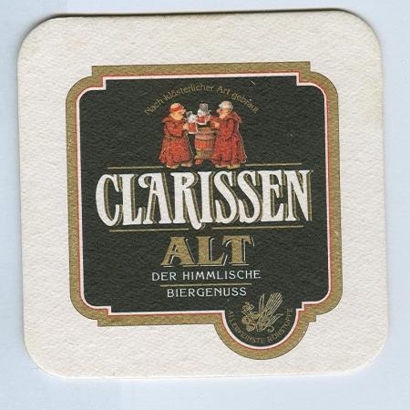 Clarissen Alt coaster A page