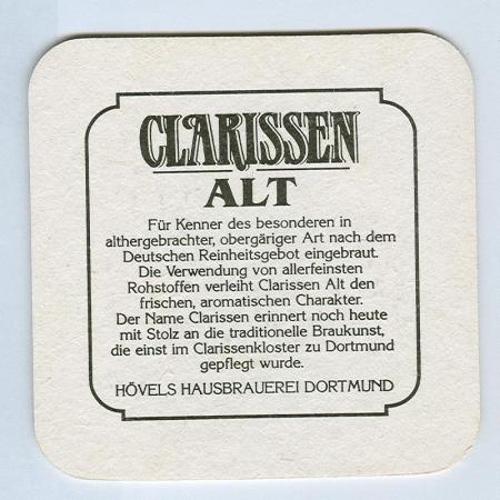 Clarissen Alt coaster B page