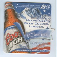 Coors coaster B page