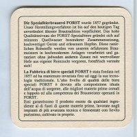 Forst coaster B page