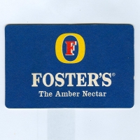 Foster's coaster A page