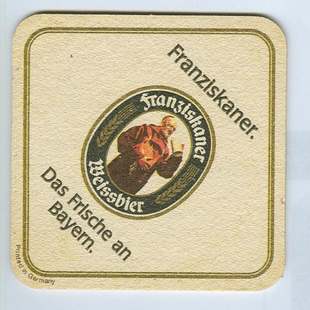 Franziskaner coaster B page