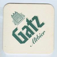 Gatz coaster A page