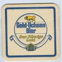Gold Ochsen coaster A page