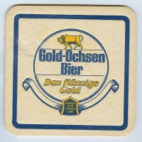 Gold Ochsen coaster B page