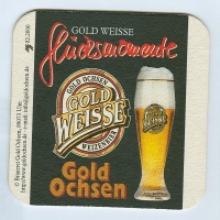 Gold Weisse coaster A page