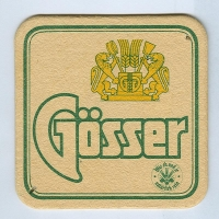 Gösser coaster A page