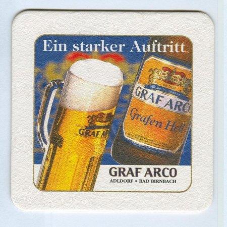 Graf Arco coaster A page
