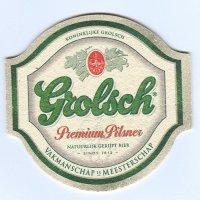 Grolsch coaster A page
