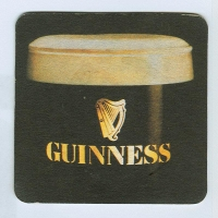 Guinness coaster A page