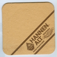 Hannen coaster A page
