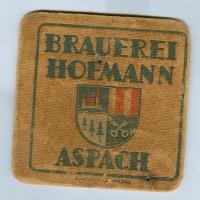 Hofmann coaster A page