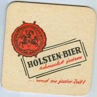 Holsten coaster A page