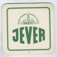 Jever coaster A page