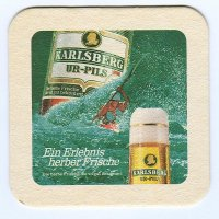 Karlsberg coaster A page