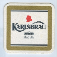 Karlsbräu coaster A page