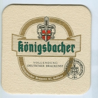Königsbacher coaster A page