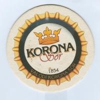 Korona coaster A page