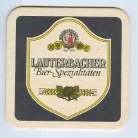 Lauterbacher coaster A page