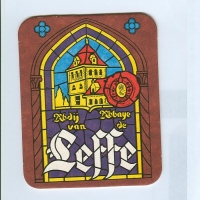 Leffe coaster A page
