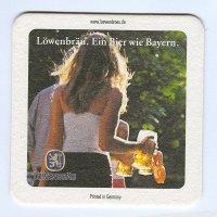 Löwenbräu coaster B page