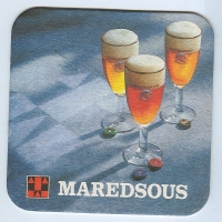 Maredsous coaster A page
