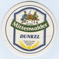 Mittenwalder coaster A page