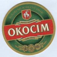Okocim coaster A page