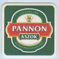 Pannon Ászok coaster A page