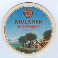 Paulaner coaster A page