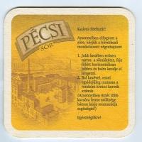 Pécsi sörfőzde coaster B page