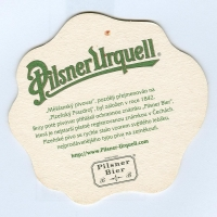 Pilsner Urquell coaster B page